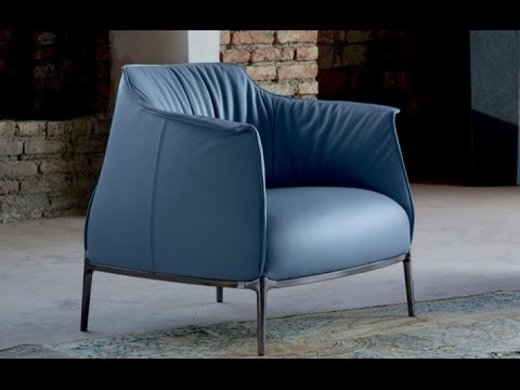 archibald armchair by poltrona frau youtube. Black Bedroom Furniture Sets. Home Design Ideas