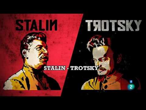 Stalin y Trotsky, un duelo a muerte