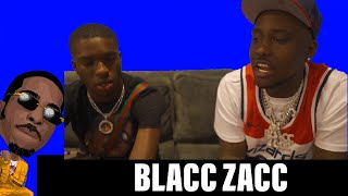 BLACC ZACC INTERVIEW (EXCLUSIVE) - KICKIN IT WITH GUCCI P - EP 2