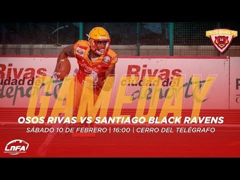 LNFA 2018 Serie A - Osos Rivas vs Santiago Black Ravens
