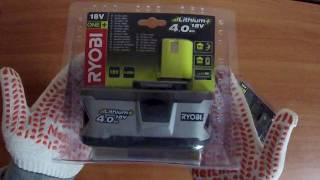 Обзор аккумуляторных батарей Ryobi ONE+ (5,4,2 Ач)