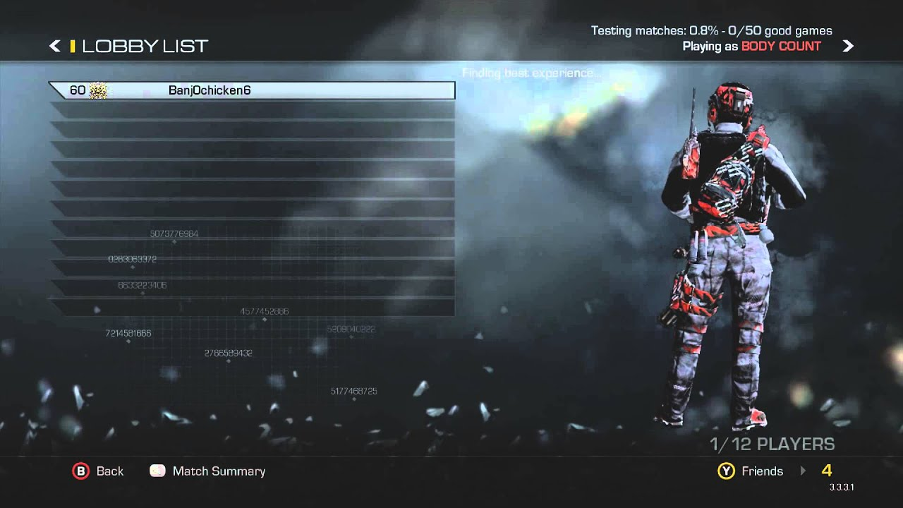 Call Of Duty Ghost Every Hidden Camo Patch Background Mask