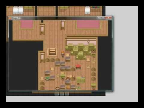 RPG Maker XP moving crate puzzle - tutorial |