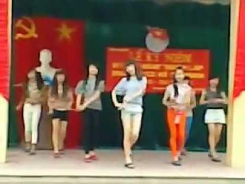 Video Hot Girl Noi loan 9B1-Trường THCS Hương sơn-Mỹ đức