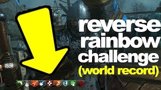 WORLD RECORD: Origins Reverse Rainbow Challenge (Black Ops 3 Zombies)