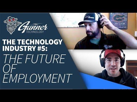 Gunner Technology Livestream Episode 9: The Future of Employment
