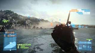 BattleField 3 Ultimate Trolling - killing 5 teammates at once.