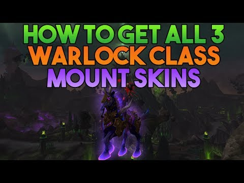How to get ALL 3 Warlock Class Mount Skins!