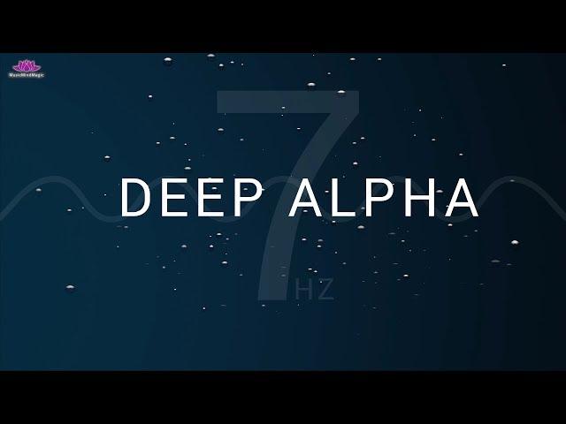 Deep Alpha Binaural Beats 15 min Meditation & Relaxation Brainwave Music