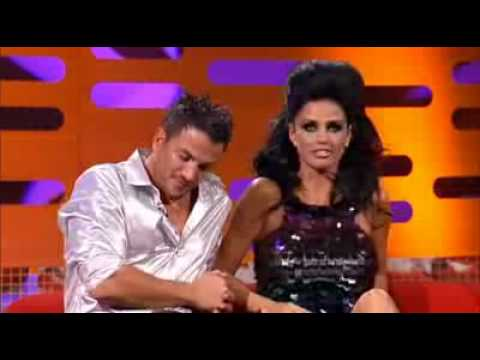 Katie Price and Peter Andre on Graham Norton Show 1