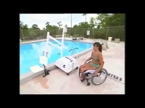 Sistema novedoso acceso piscinas discapacitados youtube for Sistema ultravioleta para piscinas