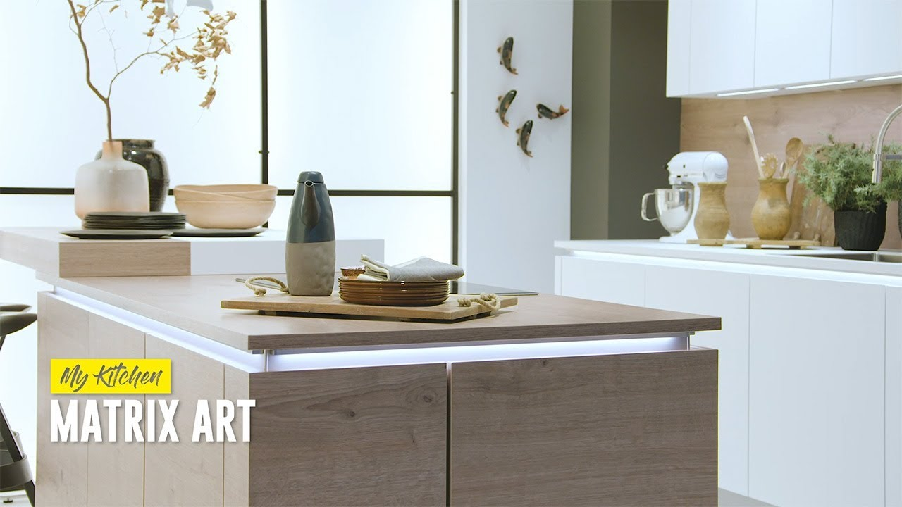 Nolte Küchen S Matrixart Handleless Kitchen Practical And Modern Youtube