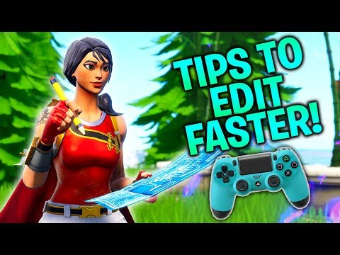 Simple Tricks to Edit Faster on Controller! (Fortnite Console PS4/Xbox)
