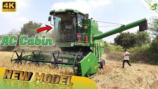John Deere W50 Grain Harvester   AC Cabin   Multi Crop Harvester   Come To Village