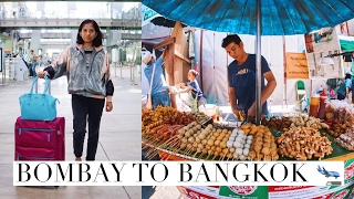 Video Bombay to Bangkok | Travel Vlog Part 1 // #MagaliTravels download MP3, 3GP, MP4, WEBM, AVI, FLV Oktober 2017
