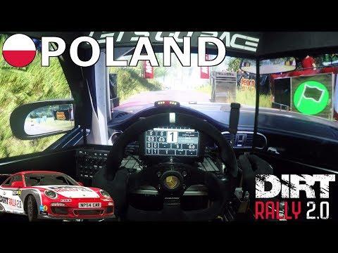 DiRT Rally 2.0 - Porsche 911 RGT Rally Spec @ Poland [OSW + Triple Screen] [GAMEPLAY]