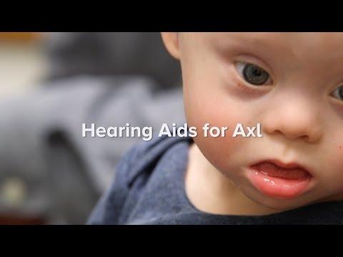 Hearing Aids for Axl | Cincinnati Children's