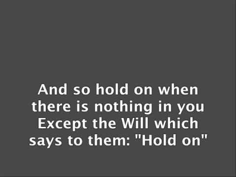 If Poem by Rudyard Kipling with music