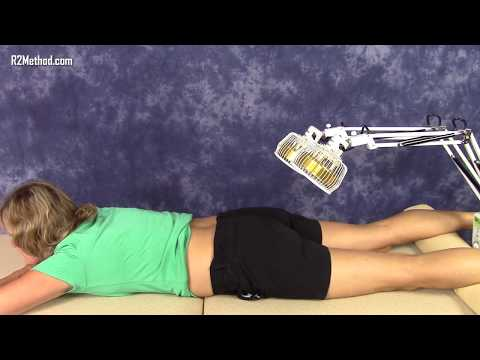 Infra Red Therapy for Low Back Pain - How to Use the Far Infrared Lamp