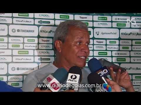 Goiás: Apesar da vitória, Hélio dos Anjos reclama da arbitragem contra Aparecidense