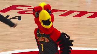 The Atlanta Hawks mascot did not miss a beat, hitting all the moves from this past generation. Can you still dougie as smooth as Harry the Hawk? Find more ...