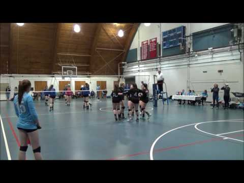 Lakes Region Juniors 16 Gold Volleyball 4/9/17