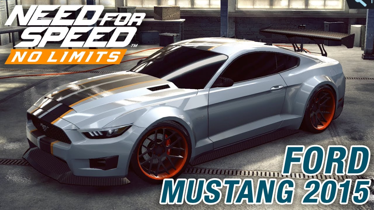 Need For Speed No Limits Ford Mustang 2015 Obnovlenie Hot Road