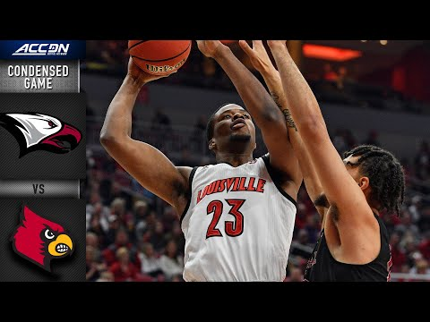 North Carolina Central Vs. Louisville Condensed Game | 2019-20 ACC Men's Basketball