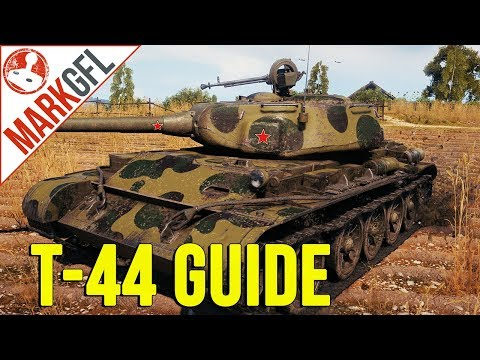 T-44 Guide & Review - World of Tanks