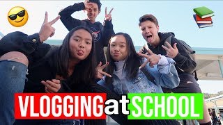 COME TO SCHOOL WITH ME!! Vlogmas Day 3!! Nicole Laeno