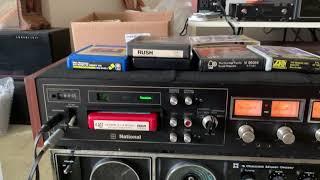 National RS-859U 4-Channel 8 Track Recorder Japan