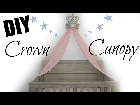 DIY CROWN CANOPY