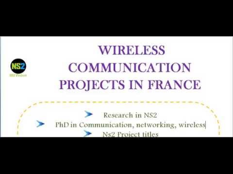 WIRELESS COMMUNICATION PROJECTS IN FRANCE