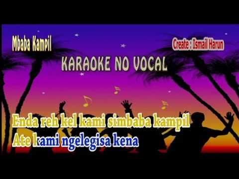 Mbaba Kampil Karaoke Keyboard
