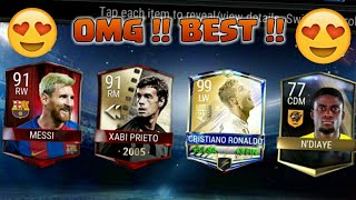OMG I GOT 99 RONALDO IN MASTER PLAYER PACKS 😍 !!!! Master Player Packs Opening in FIFA Mobile 17