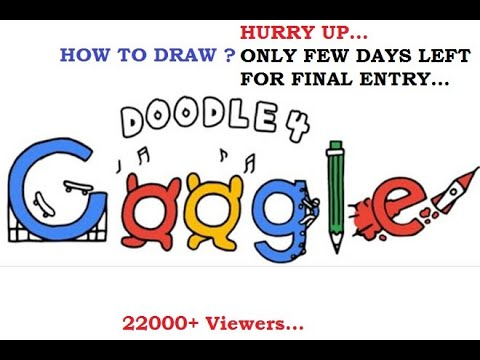 Doodle 4 Google - HOW TO DRAW