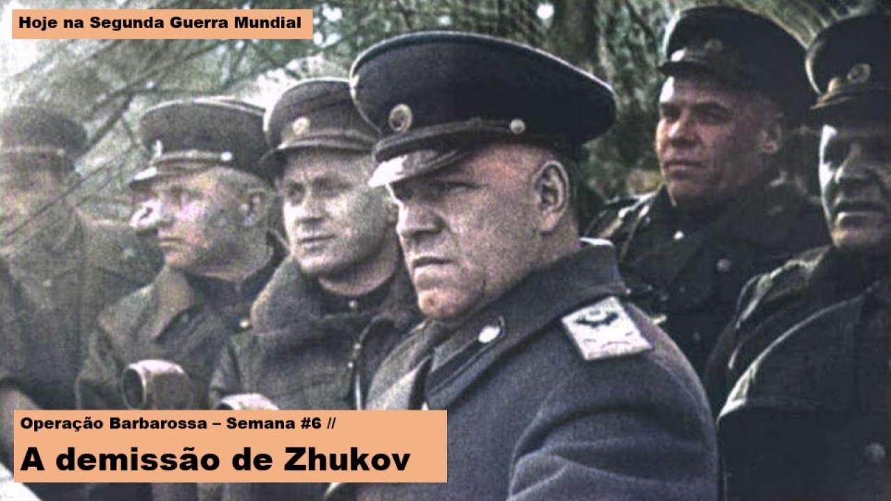 Operação Barbarossa – Semana #6 – A demissão de Zhukov
