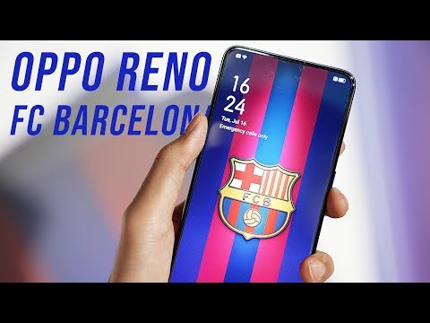 OPPO Reno FC Barcelona Edition - The best gift to football fans!