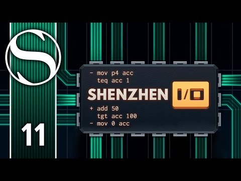 TAG, YOU'RE IT - Let's Play Shenzhen I/O - Shenzhen IO Gameplay Part 11
