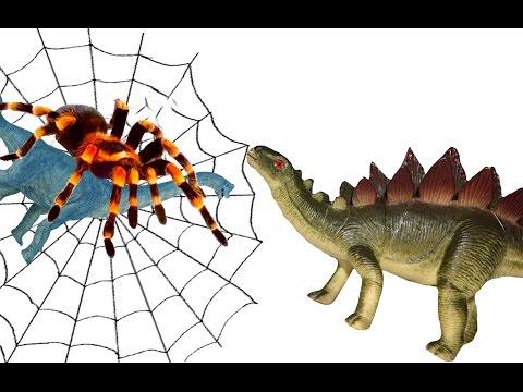 Динозавры мультфильм для детей. Логово паука. Спасение друга. Видео Игрушки Мурзик ТВ