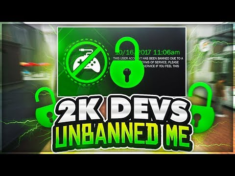 OMG AFTER PERMANENT BAN 2K UNBANS ME?! 😱 IS GAWD TRILLER BACK?! 😳 THE MOMENT OF TRUTH NBA 2K18...
