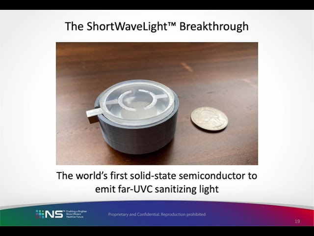 Seth Previews ShortWaveLight™ Emitter at Display Week 2021