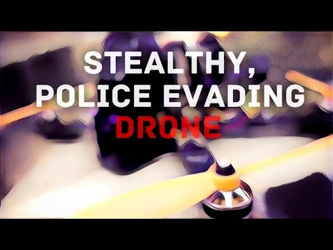 Evade Police with Ninja Drone