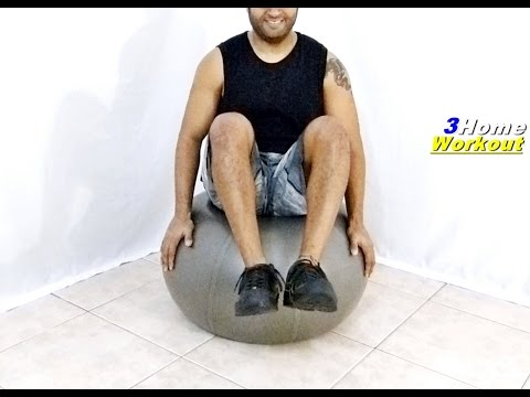 Fitness at Home FIT BALL (INTRO) ABS EXERCISE 2 – Weight Loss