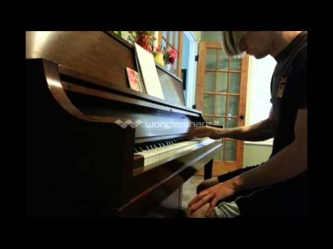 Acid Rain solo on piano (slowly, then full speed)