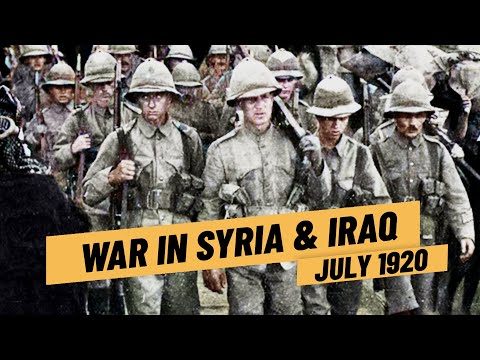 French War In Syria - British War Against The Iraqi Revolution I THE GREAT WAR 1920