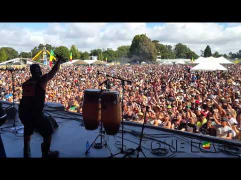 ONE LOVE NZ 2016 - DJ Hemz On Stage Footage