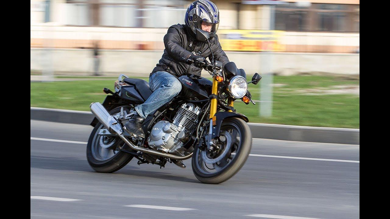 Обзор мотоцикла Baltmotors Classic 200 - YouTube