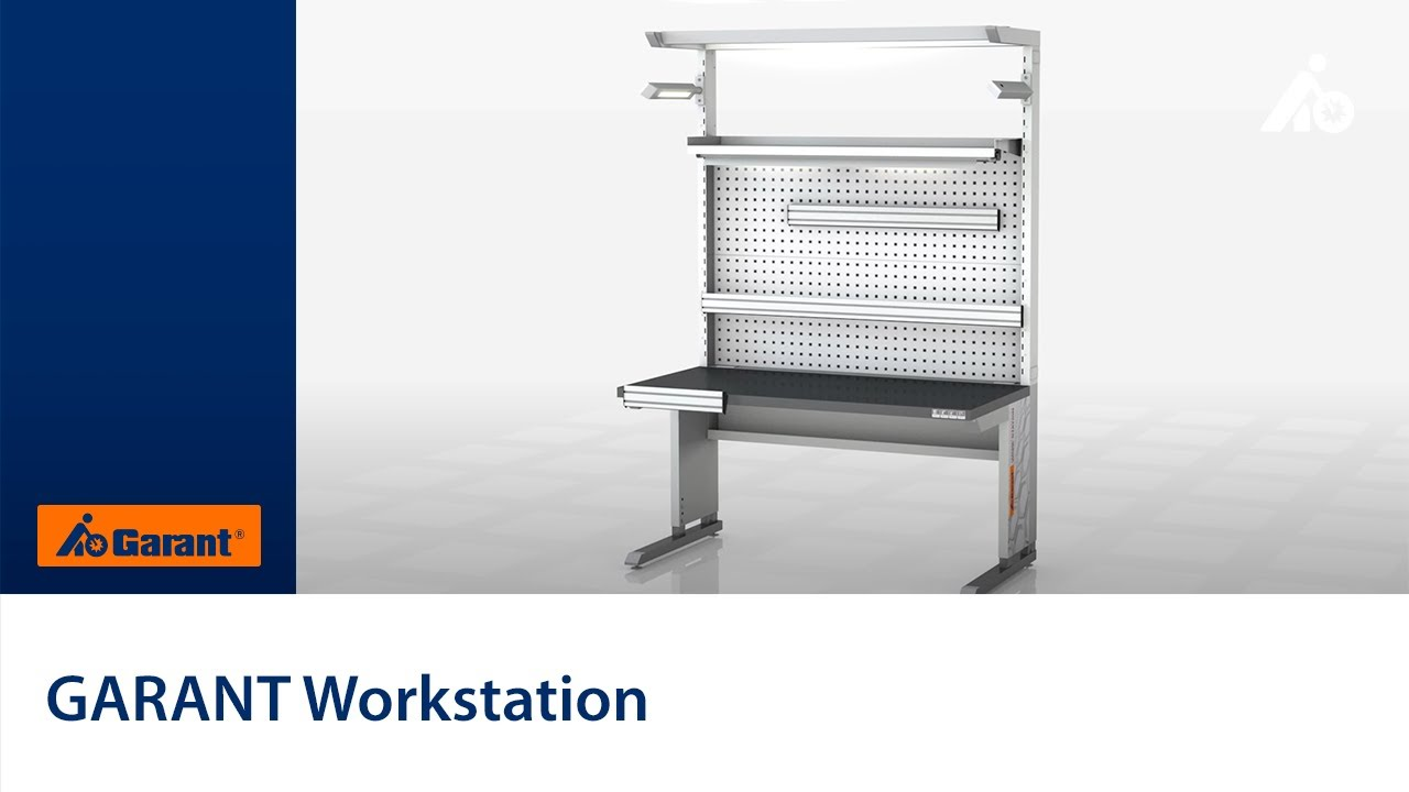 GARANT Workstation - Hoffmann Group - YouTube