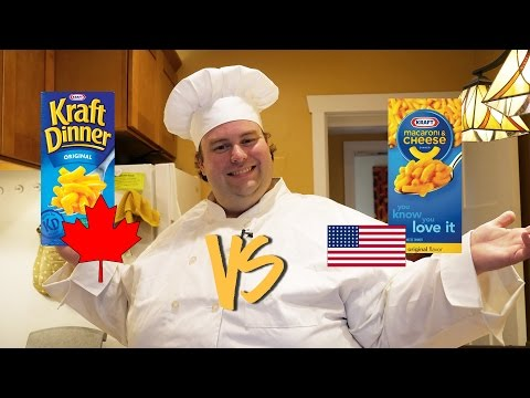 BoxMac 12: Kraft Dinner Original vs. Kraft Original